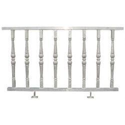 aluminiowe elementy balustrady i ogrodzeń